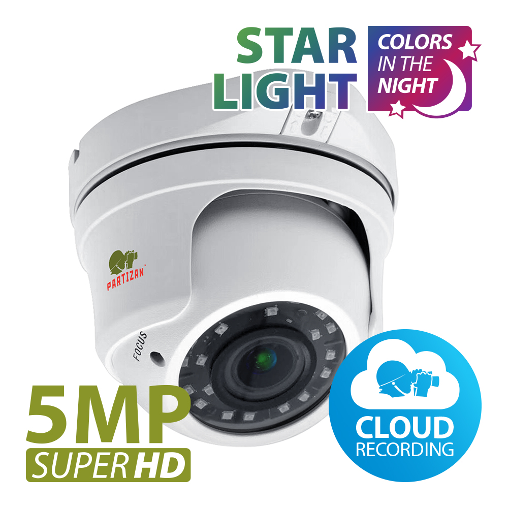 5.0MP IP Varifocal kamera IPD-VF5MP-IR Starlight 3.0 Cloud