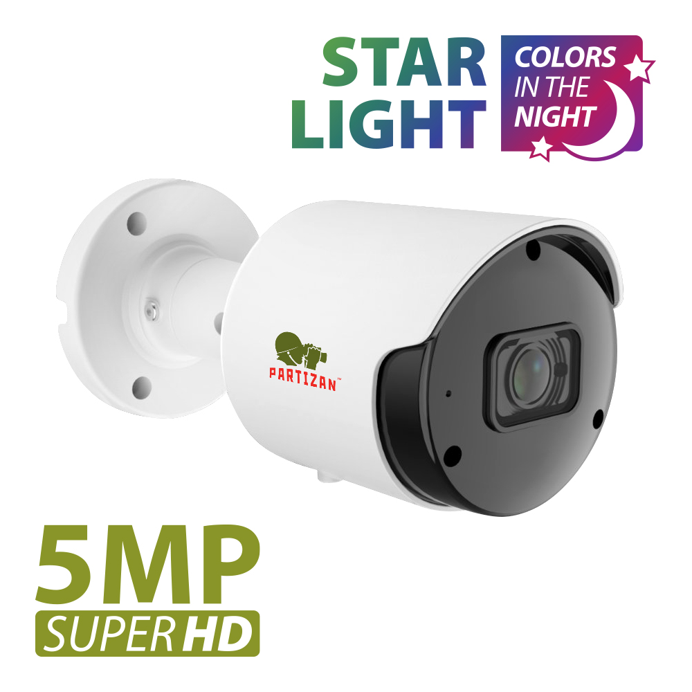 5.0MP IP kamera IPO-5SP Starlight SH